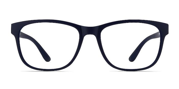 Milo Matte Navy Plastic Eyeglass Frames from EyeBuyDirect