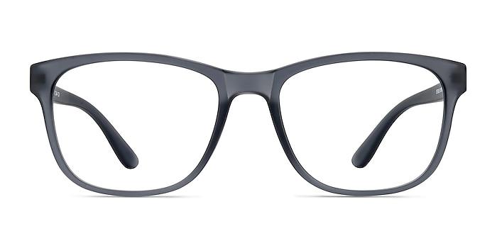 Milo Matte Gray Plastique Montures de lunettes de vue d'EyeBuyDirect