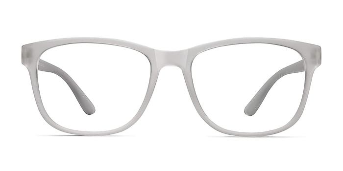 Milo Frosted Clear Plastique Montures de lunettes de vue d'EyeBuyDirect