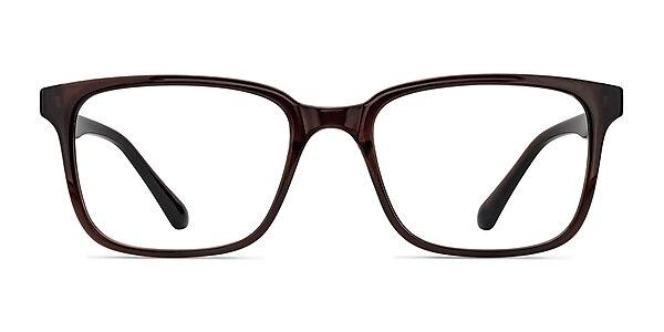 November Brown Plastic Eyeglass Frames