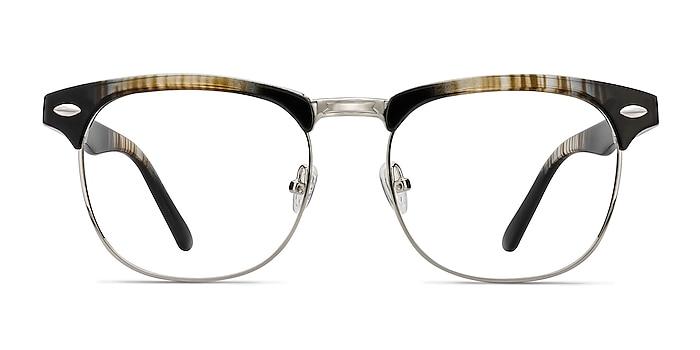 Coexist Rayures Plastic-metal Montures de lunettes de vue d'EyeBuyDirect
