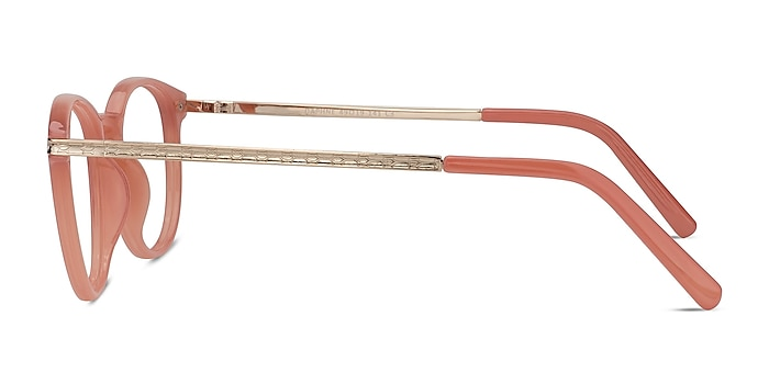 Daphne Pink Plastic-metal Eyeglass Frames from EyeBuyDirect