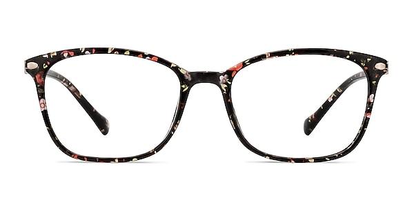 Nola Pink Floral Plastic Eyeglass Frames