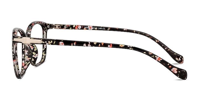 Nola Pink Floral Plastique Montures de lunettes de vue d'EyeBuyDirect