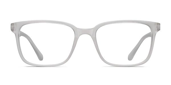 November Matte Clear Plastic Eyeglass Frames