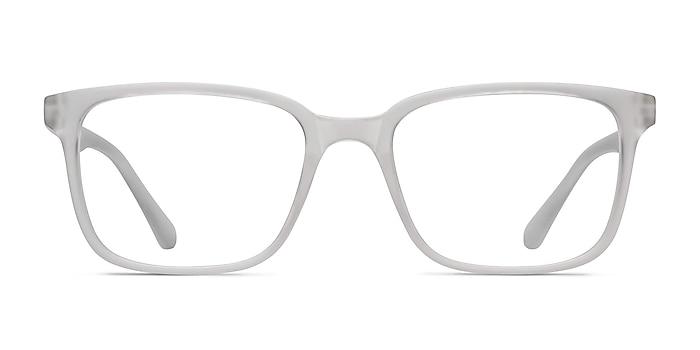November Matte Clear Plastic Eyeglass Frames from EyeBuyDirect