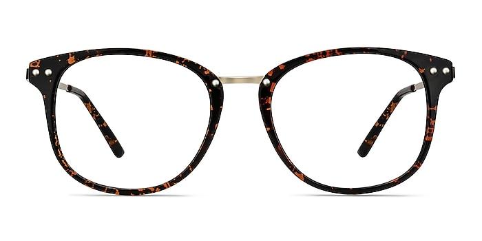 Cosmo Tortoise Plastic-metal Eyeglass Frames from EyeBuyDirect