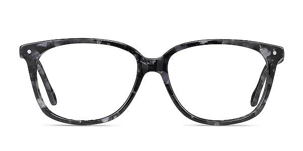 Escape Marbled Gray Acetate Eyeglass Frames