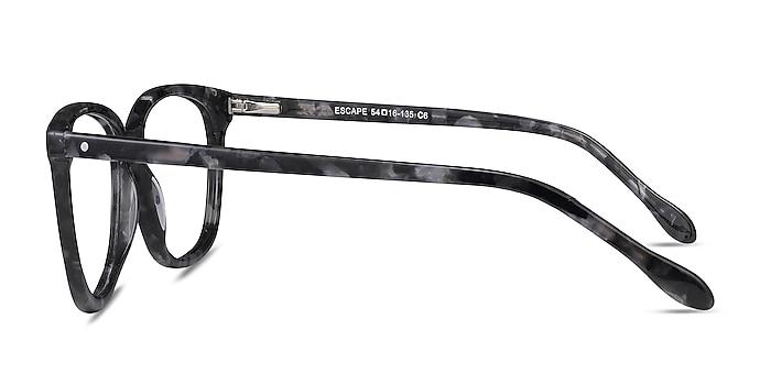 Escape Marbled Gray Acétate Montures de lunettes de vue d'EyeBuyDirect