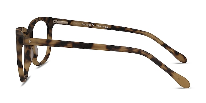 Escape Matte Tortoise Acetate Eyeglass Frames from EyeBuyDirect