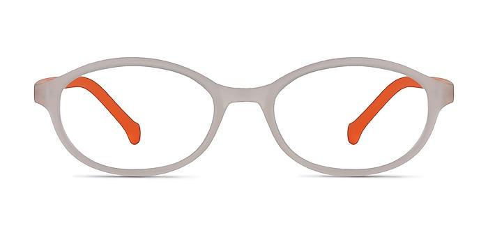 Skipper Matte Clear Plastic Eyeglass Frames from EyeBuyDirect