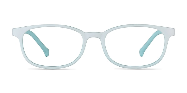 Bound Green Plastic Eyeglass Frames