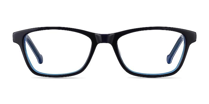 Shallows Blue Acetate Eyeglass Frames from EyeBuyDirect