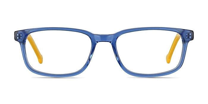 Totes Blue Clear Acétate Montures de lunettes de vue d'EyeBuyDirect
