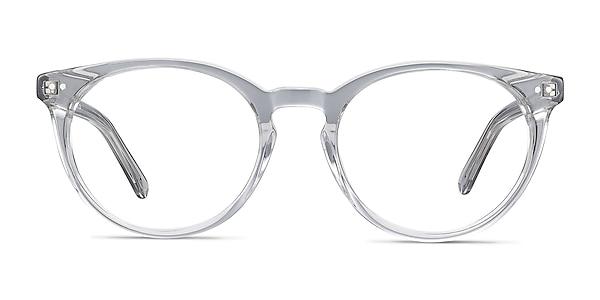 Morning Gray Clear Acetate Eyeglass Frames