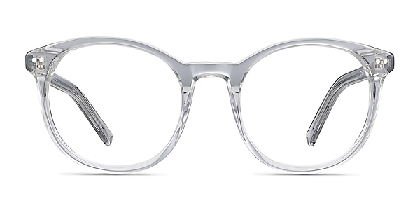 Primrose Gray Clear Acetate Eyeglass Frames