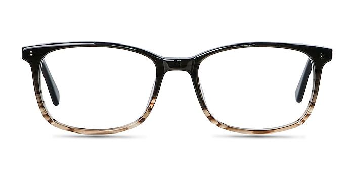 Botanist Gray Brown Acetate Eyeglass Frames from EyeBuyDirect