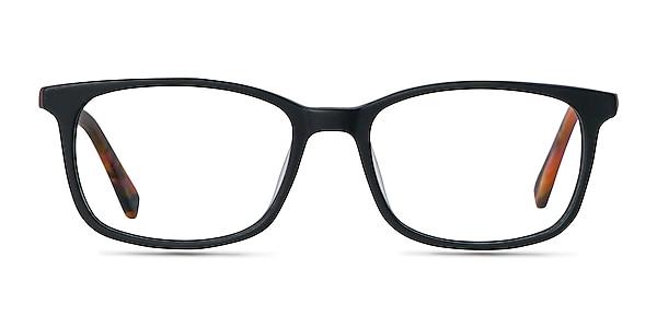 Botanist Black Acetate Eyeglass Frames
