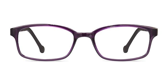 Gizmo Purple Plastic Eyeglass Frames from EyeBuyDirect