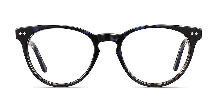 Notting Hill Blue Floral Acetate Eyeglass Frames from EyeBuyDirect