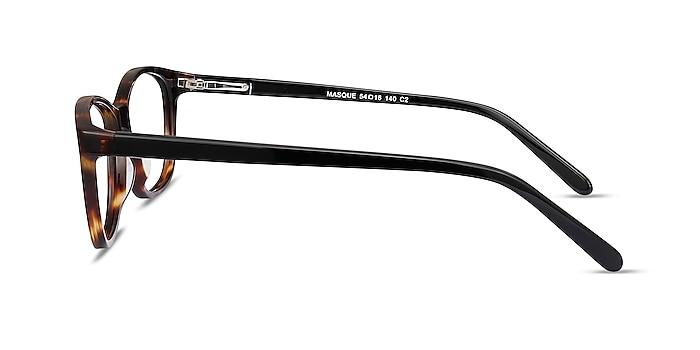 Masque Tortoise Acetate Eyeglass Frames from EyeBuyDirect