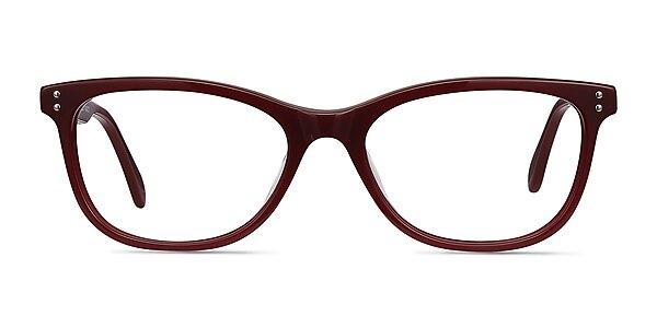 Prodigy Burgundy Acetate Eyeglass Frames