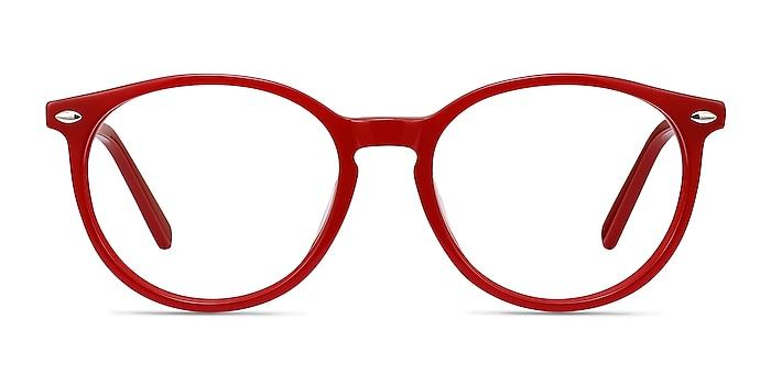 Blink Rouge Acétate Montures de lunettes de vue d'EyeBuyDirect