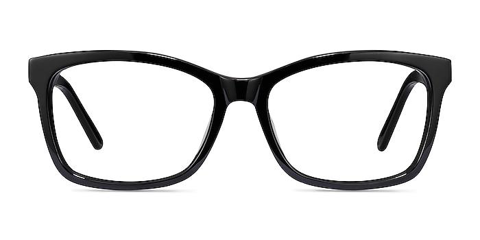 Mode Black Acetate Eyeglass Frames from EyeBuyDirect
