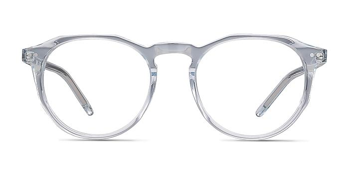 Planete Clear Blue Acétate Montures de lunettes de vue d'EyeBuyDirect