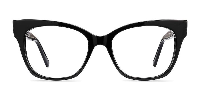 Cachet Black Acetate Eyeglass Frames from EyeBuyDirect
