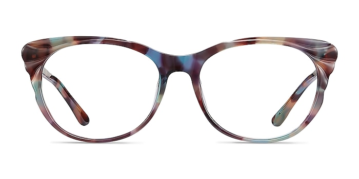 Mariposa Floral Acetate Eyeglass Frames from EyeBuyDirect