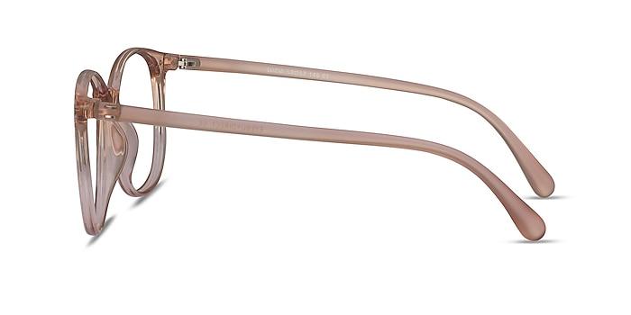 Lucia Champagne Plastique Montures de lunettes de vue d'EyeBuyDirect