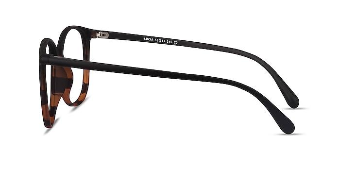 Lucia Black Tortoise Plastique Montures de lunettes de vue d'EyeBuyDirect