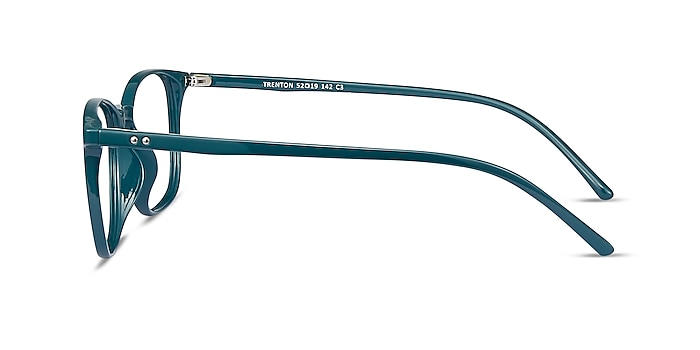 Trenton Vert Plastique Montures de lunettes de vue d'EyeBuyDirect
