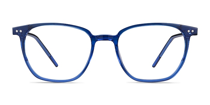 Regalia Blue Acetate Eyeglass Frames from EyeBuyDirect