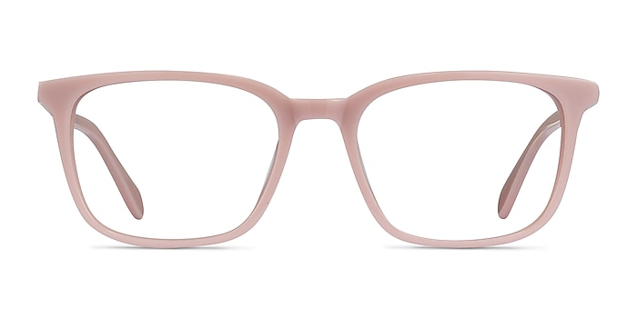 Etched Pink Acetate Eyeglass Frames from EyeBuyDirect