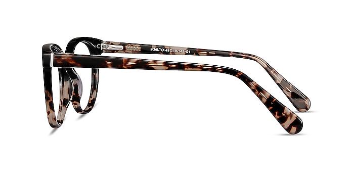 Rialto Black Tortoise Acetate Eyeglass Frames from EyeBuyDirect