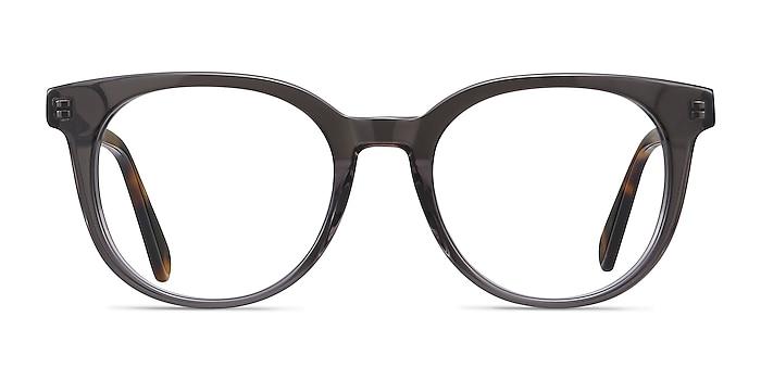 Rialto Gray Acetate Eyeglass Frames from EyeBuyDirect