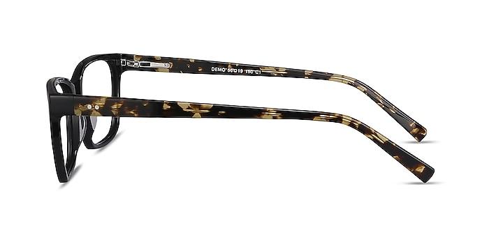 Demo Black Acetate Eyeglass Frames from EyeBuyDirect