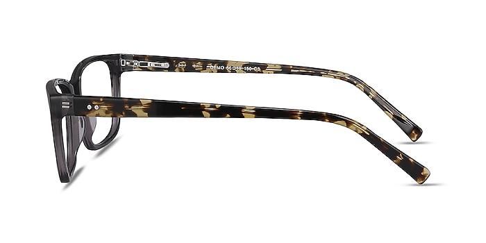 Demo Gray Acetate Eyeglass Frames from EyeBuyDirect