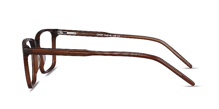Chief Brown Acetate Eyeglass Frames from EyeBuyDirect