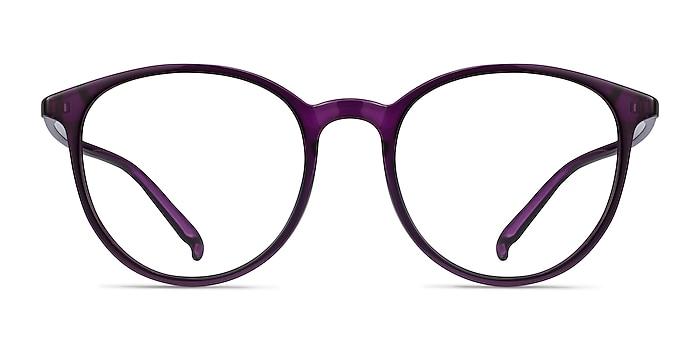 Macaron Purple Plastic Eyeglass Frames from EyeBuyDirect