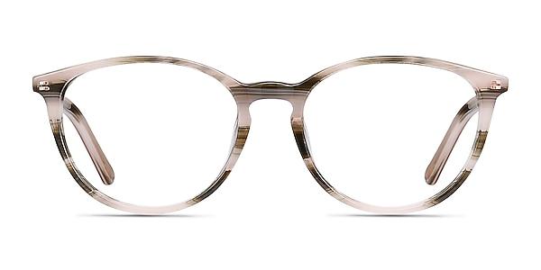 Messenger Striped Acetate Eyeglass Frames