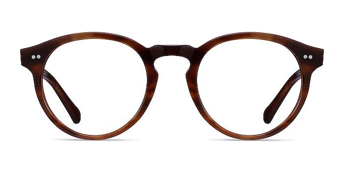 Theory Cognac Acetate Eyeglass Frames from EyeBuyDirect