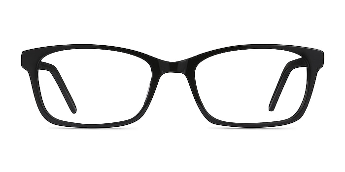 Mesquite Black Acetate Eyeglass Frames from EyeBuyDirect
