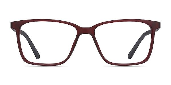 Alaska Red Plastic Eyeglass Frames