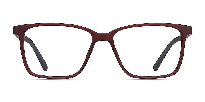 Alaska Red Plastic Eyeglass Frames from EyeBuyDirect