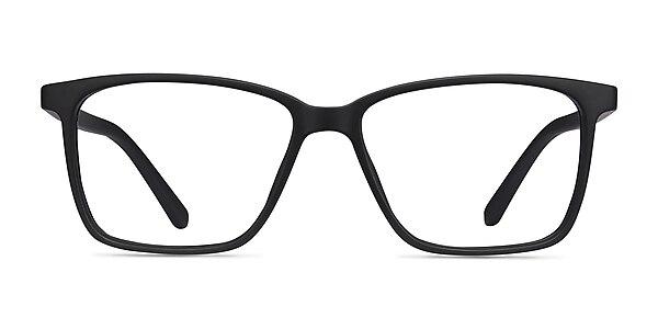 Alaska Black Plastic Eyeglass Frames