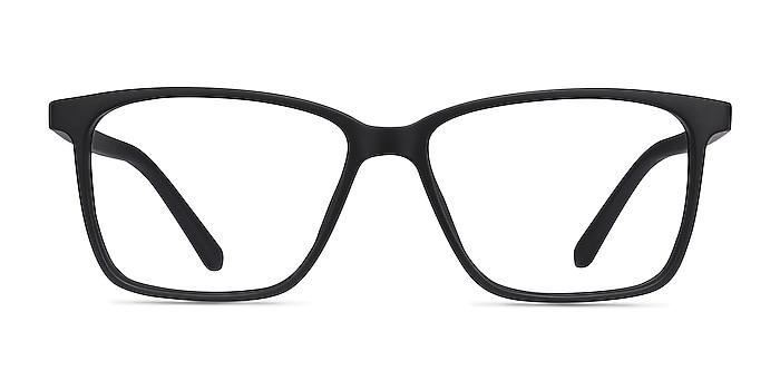 Alaska Black Plastic Eyeglass Frames from EyeBuyDirect