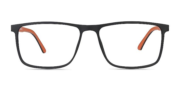 Holmes Noir Plastique Montures de lunettes de vue d'EyeBuyDirect